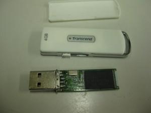 USBメモリ破損の修理