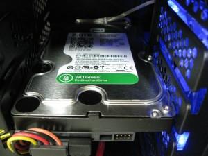 HDDは2TBです