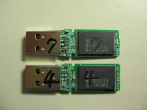 USBフラッシュメモリ修理
