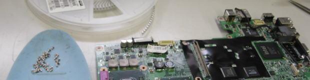 チップコンデンサ修理