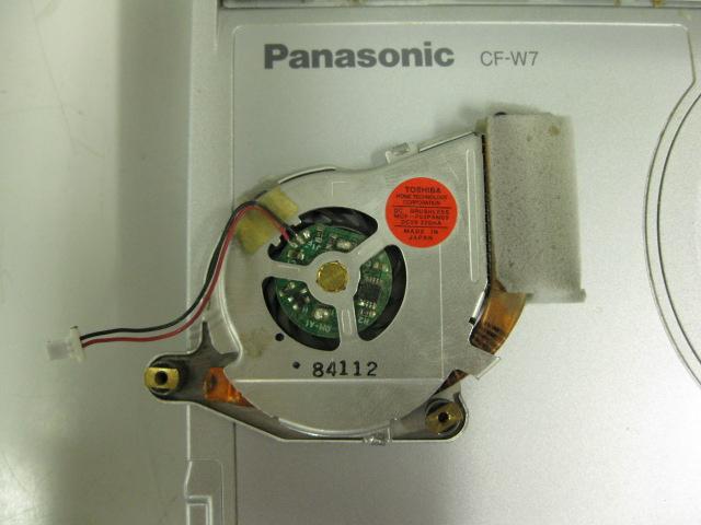 CF-W7 CPUファン部品