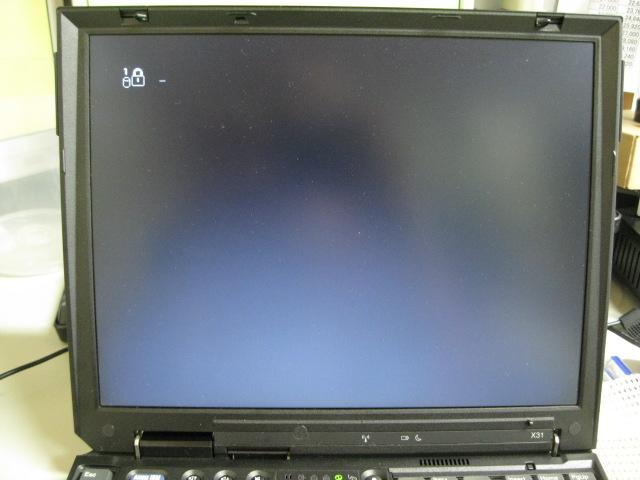 ThinkPad HDDパスワード解除