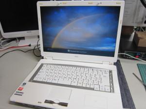 PC-LL550LG修理完了