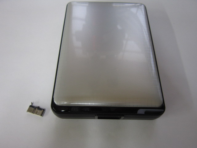 ポータブルHDDの破損